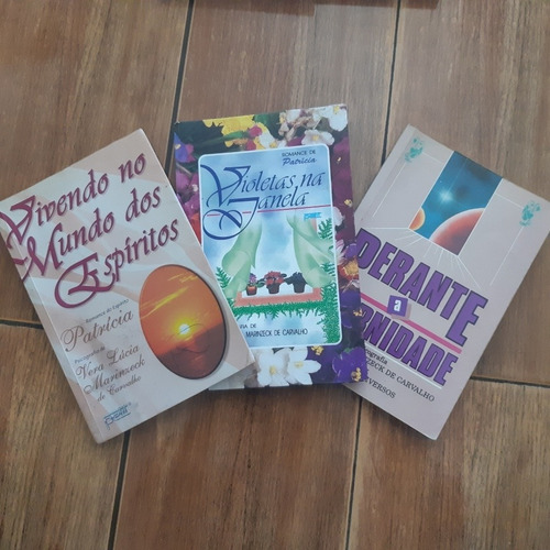 Lote De Livros Espíritas Romance De Patricia