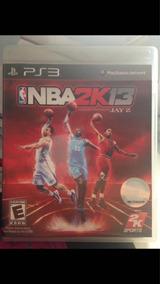 Playstation 3 Nba 2k13 Jay-z Ps3 Usado Ótimo Estado R$72,97