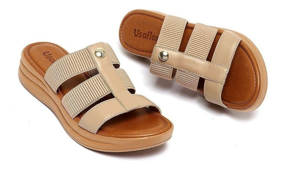 Sandálias Femininas Esporão De Calcâneo Usaflex Ab7003