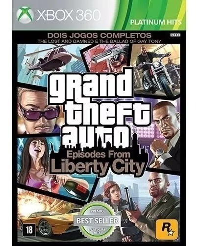 Grand Theft Auto Episodes Liberty City Xbox 360 Fisi Lacrado