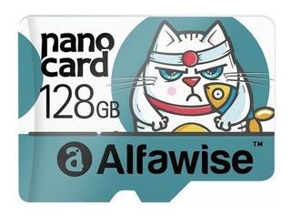 Cartão De Memória 128gb Alfawise Classe 10 Memory Card