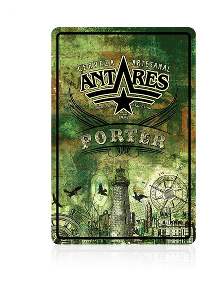 Chapa Porter Cerveza Artesanal Antares