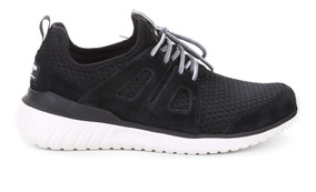 Tênis Skechers Rough Cut Masculino - Preto