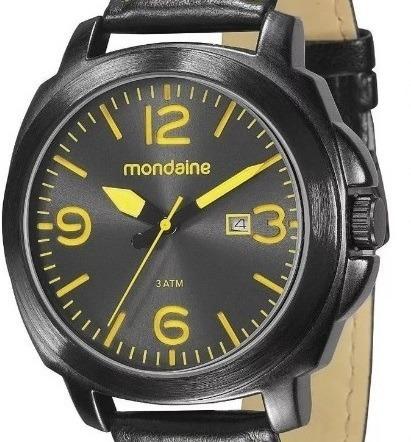 Relógio Mondaine Análogo Pul. Couro Calendário 76344gpmvph3