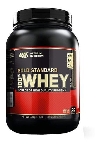 Imagen 1 de 1 de Proteína Optimun Nutrition Whey 2 Lb On Gold Standard Tono Muscular Rendimiento Recuperación Importada Usa
