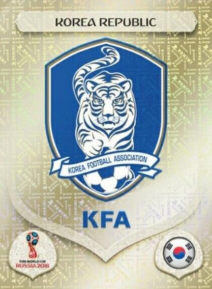 Figurinha 492 Coreia Koreia Korea Escudo Copa 2018 Cromada