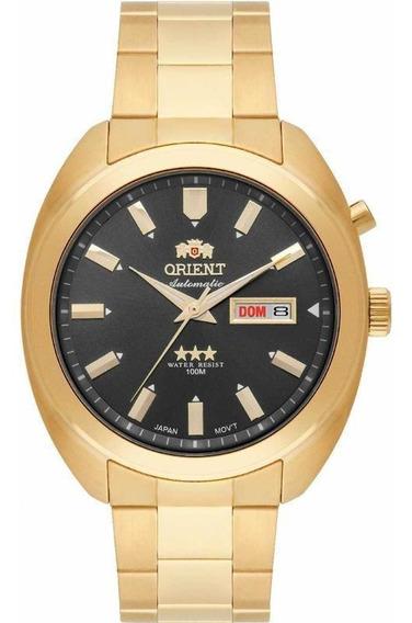 Relógio Orient Analógico Automático 469gp077 Dourado