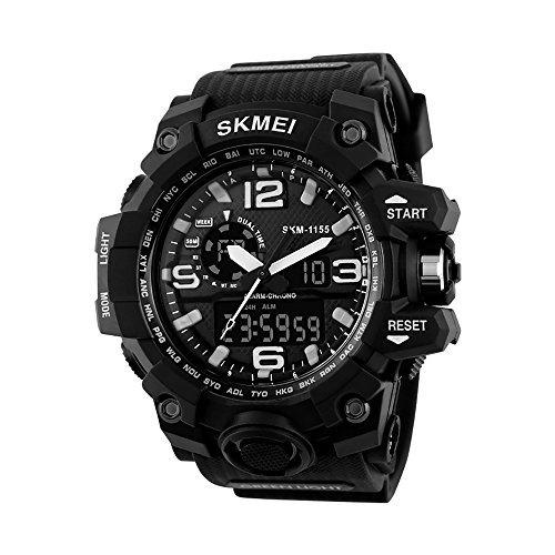 Skmei Reloj Para Hombre, Digital Y Análogo, Deportivo Y Mil