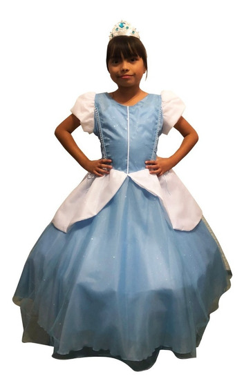 Vestido Cenicienta Clásico Talla 10 Y 12