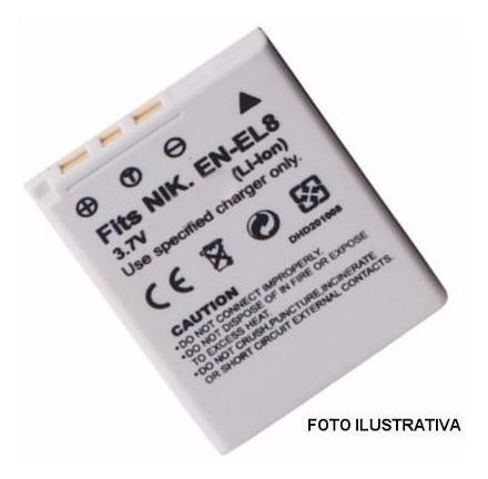 Imagen 1 de 1 de Batería  Enel8  P/nikon (6805)