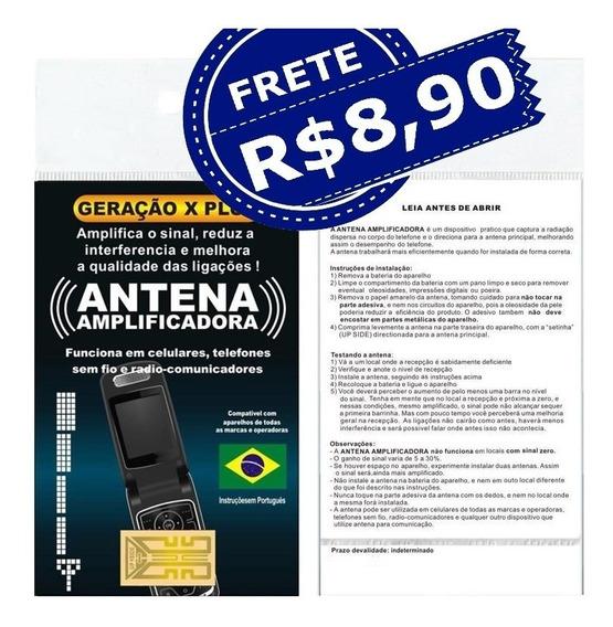 Antena Aumento Sinal Celular Fazenda Sitio Campo Frete 8,90