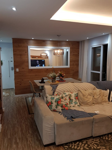 Apartamento No Bairro Campestre Em Santo Andre Com 02 Dormitorios - V-30339