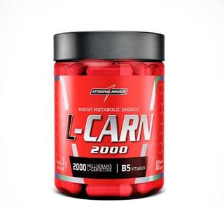 L-carn Carnitina - 60 Cápsulas - Integralmédica