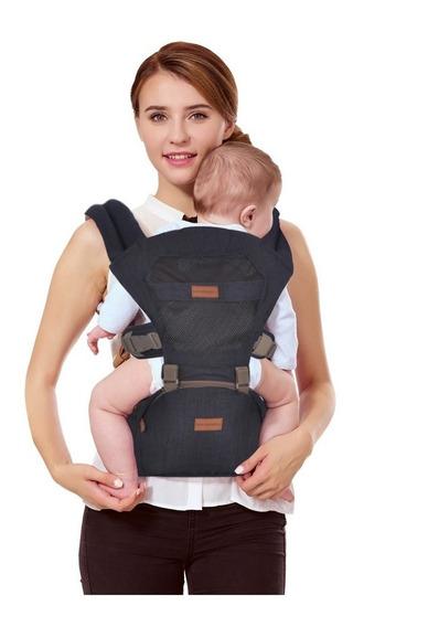 Canguru Ergonômico 5way Maxi Baby Hipseat (15kg) - Preto