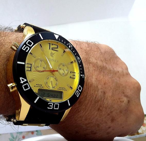 Relógio Masculino Digital E Analógico