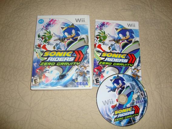 Sonic Raiders Americano Completo Para Nintendo Wii