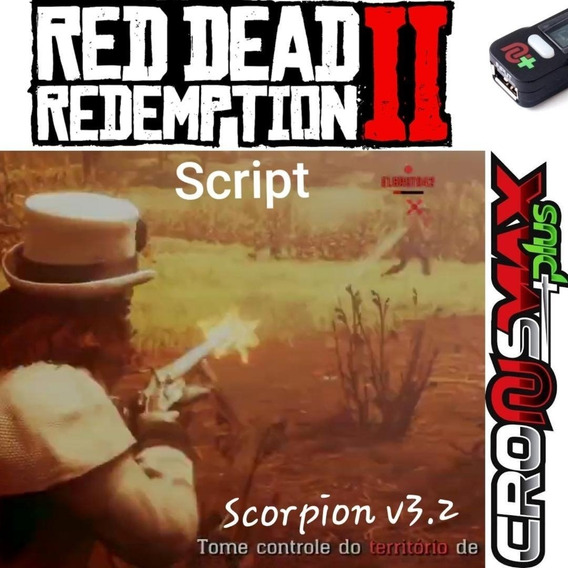 Script Cronusmax Red Dead Redemption 2 - V3.2 Xbox / Ps4!!!!
