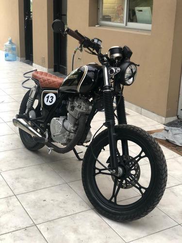 Moto Suzuki Gn 125 Cafe Racer