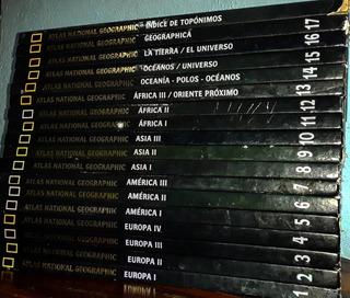Colección Atlas National Geographic Geografía Universal 18t