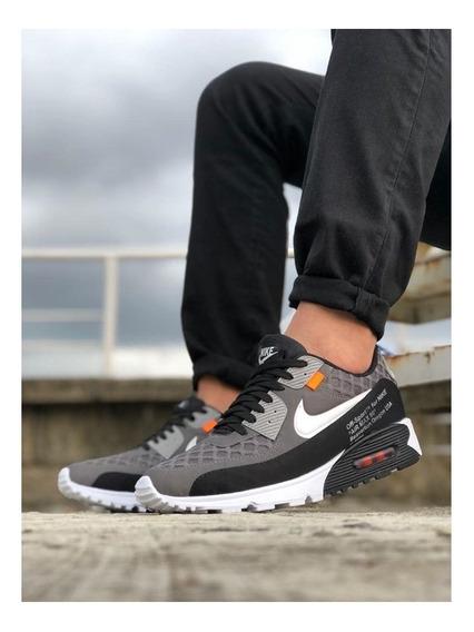 Zapatos Tenis Nike Colmena Gris Hombre Gym + Envio Gratis