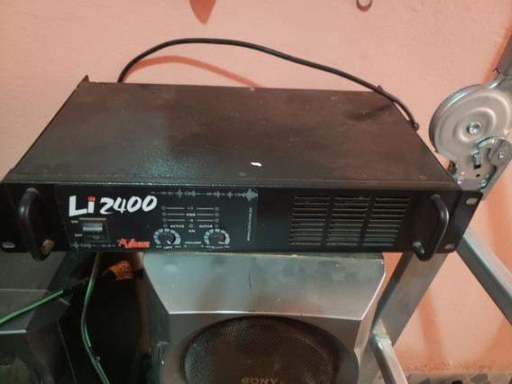 Amplificador Leacs Li2400 + Caixa
