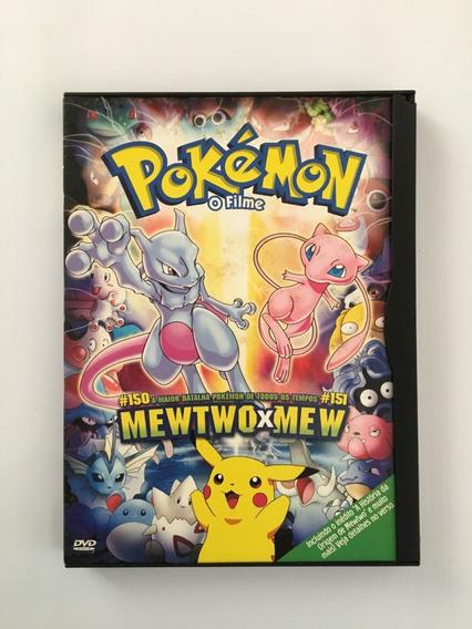 Dvd Pokémon - Mewtwo X Mew