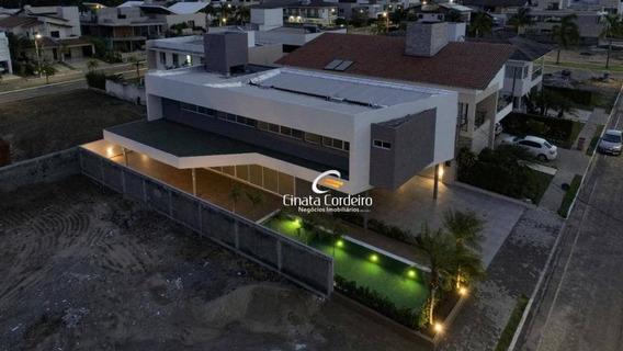 Casa Com 4 Dormitórios À Venda, 360 M² Por R$ 1.650.000 - Portal Do Sol - João Pessoa/pb - Ca0151
