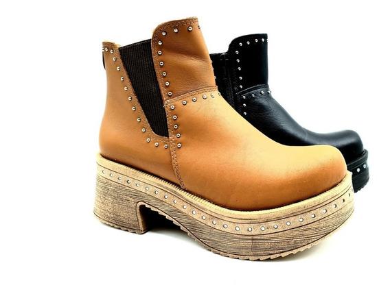 Botas Zapatos Borcegos Tachas Cuero Invierno Sofi-74 Savage