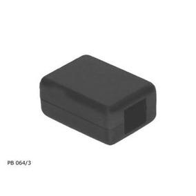 Kit 10pçs 104260 - Caixa Pb046/3 Preta Patola