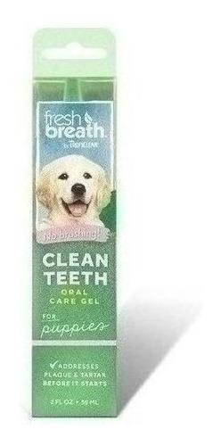 Imagen 1 de 1 de Gel Fresh Breath Para Dientes De Cachorros 59 Ml