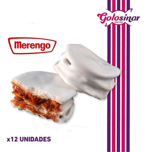 Imagen 1 de 3 de Merengo Alfajor Santafesino X 12. Oferta En Golosinar