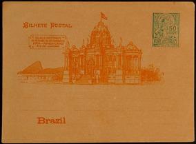 Brasil Bilhete Postal 1906 Selo 50rs Verde Novo