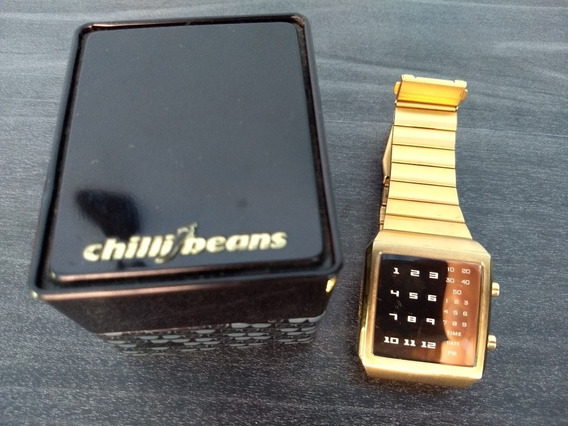 Relógio Chilli Beans Dourado