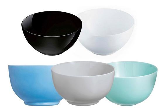 Compotera Bowl 12 Cm Diwali Luminarc Vidrio Templado Colores