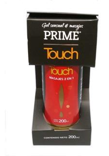 Gel Prime Touch 2 En 1 Gel Intimo Masajes 200 Ml