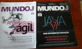 Lote Revistas Mundo J 8 Exemplares