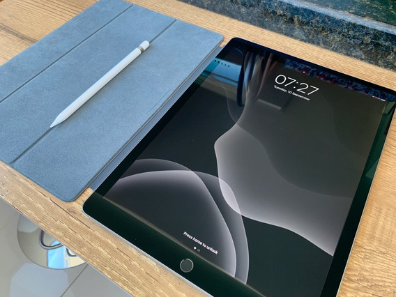 iPad Pro 12,9 64gb 2017 2a Geração Cover Pencil Leia Detalhe