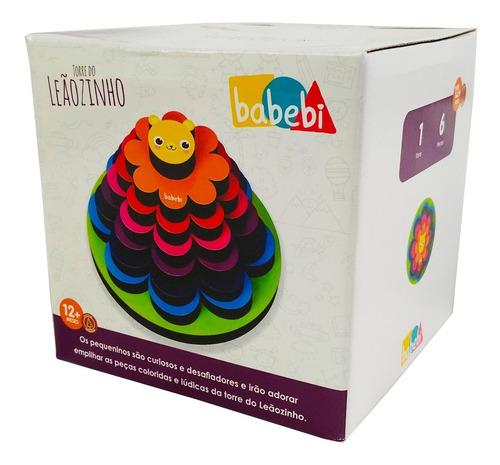 Brinquedo Educativo Infantil Torre Do Leãozinho - Babebi