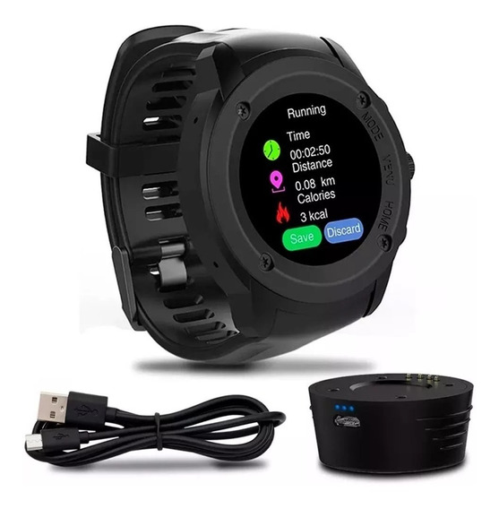 Relógio Gps Bluetooth Multiwatch Sw2 Touch Screen
