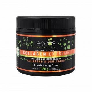 Colágeno Hidrolisado Eccos Collagen Extreme 180g + Brindes
