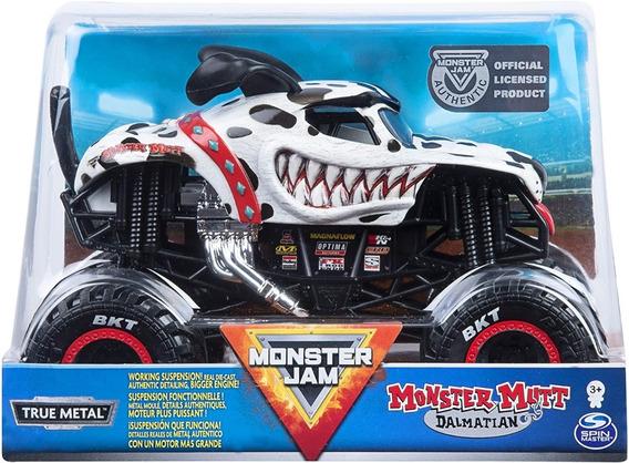 Carrito Monster Jam, Monstertruck Hotwheels Escala 1:24