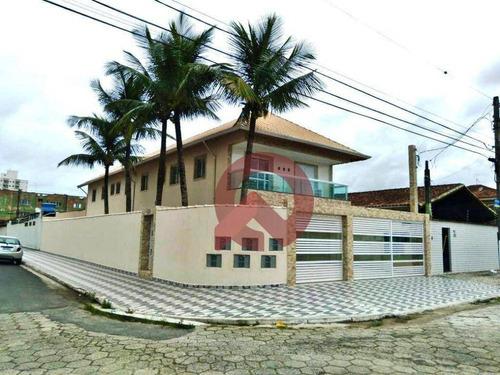 Imagem 1 de 16 de Casa Com 2 Dormitórios À Venda, 53 M² Por R$ 240.000,00 - Ocian - Praia Grande/sp - Ca0280