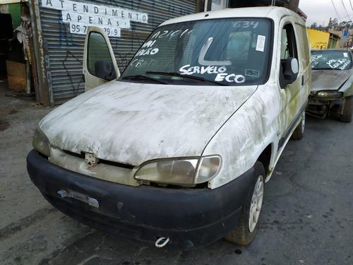 Peugeot Partner 1.8 8v 2000 Sucata Somente Peças