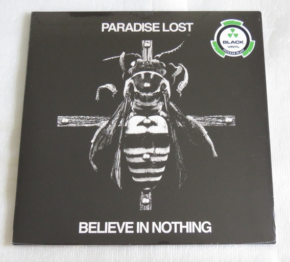 Paradise Lost Believe In Nothing Lp One Plague Gothic Medusa