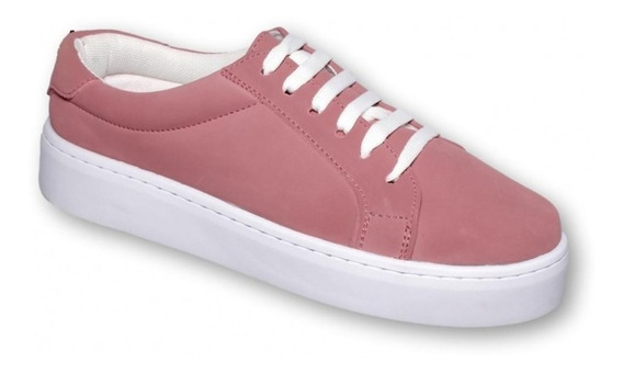 Tenis Casualespara Dama Marca Vc Colors Nobuck Maquillaje 6