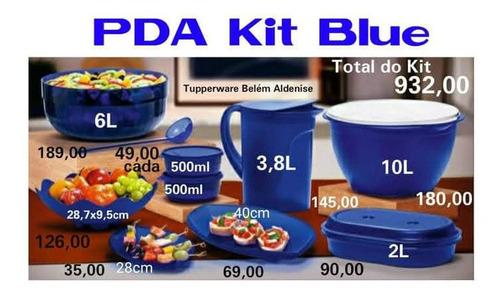 Kit Blue Dez Peças De 832,00 Por 600,00