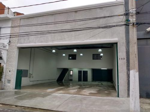 Imagem 1 de 19 de Galpão Para Alugar, 254 M² Por R$ 12.000,00/mês - Barra Funda - São Paulo/sp - Ga0034