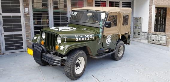 Jeep Willys Cj3 Modelo 1964.