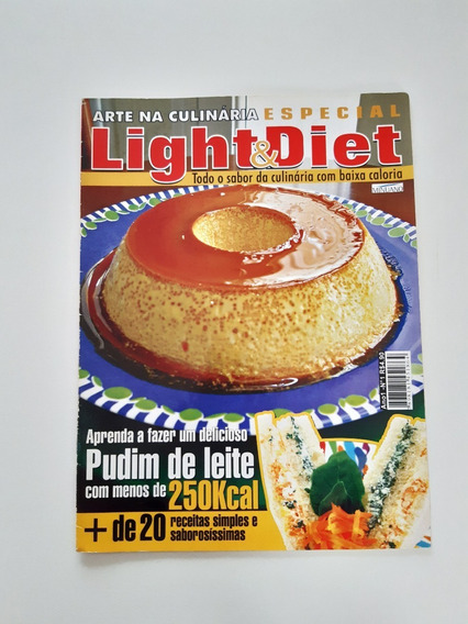 Revista Arte Na Culinária Especial Light E Diet D978