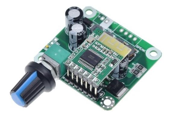 Placa Amplificador Bluetooth 4.2 Tzt 15w + 15w